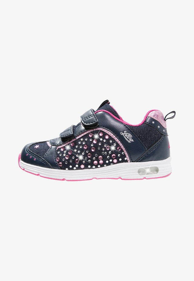 SHINE - Sneaker low - marine/pink