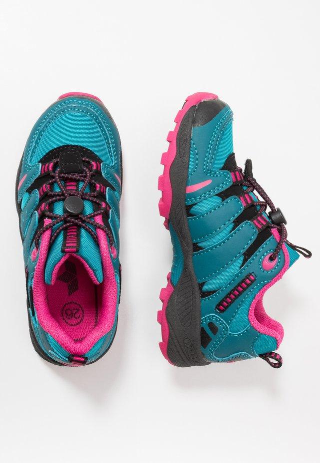 FREMONT - Sneakers - petrol/pink/schwarz