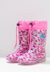 LICO - POWER BLINKY - Wellies - pink/rosa/türkis - 2
