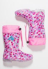 LICO - POWER BLINKY - Wellies - pink/rosa/türkis - 1
