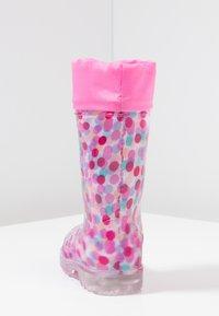 LICO - POWER BLINKY - Wellies - pink/rosa/türkis - 3