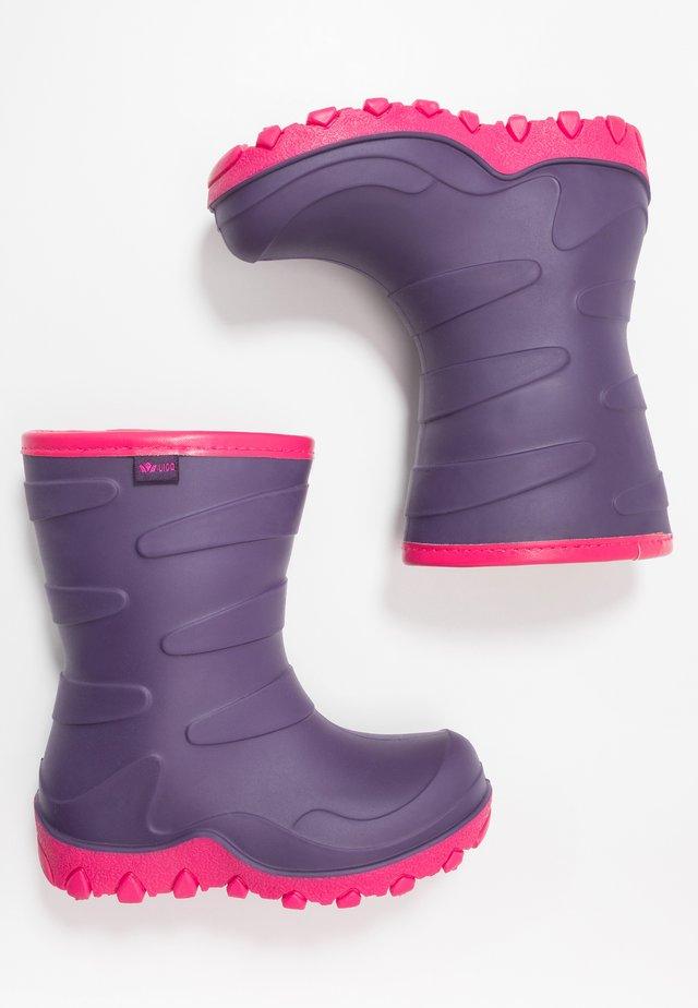 CIRRUS - Gummistøvler - lila/pink