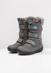 LICO - MARY  - Winter boots - grau/türkis - 3