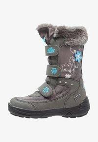LICO - MARY  - Winter boots - grau/türkis - 1