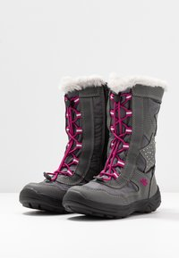 LICO - CATHRIN - Winter boots - grau/pink - 3