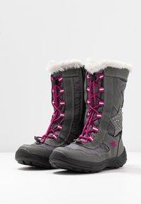 LICO - CATHRIN - Zimní obuv - grau/pink - 3