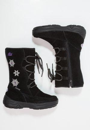 ALESSIA - Zimní obuv - schwarz/lila