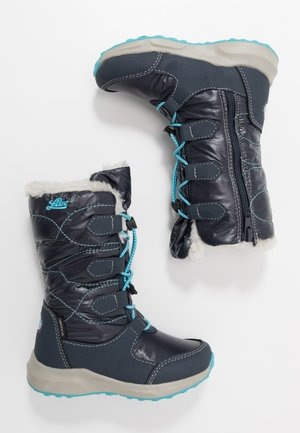 STINA - Winter boots - marine/turkis