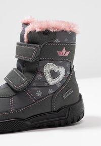 LICO - ANTONIA - Zimní obuv - grau/rosa - 2