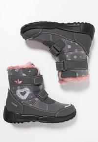 LICO - ANTONIA - Zimní obuv - grau/rosa - 0