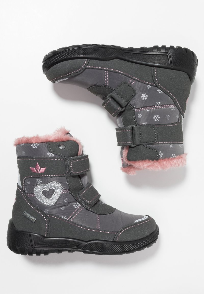 LICO - ANTONIA - Zimní obuv - grau/rosa