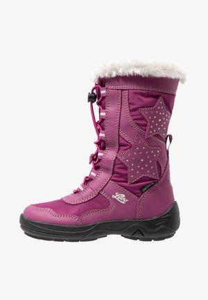 CATHRIN - Vinterstøvler - pink/silber