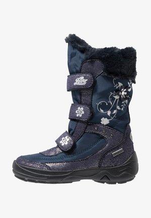 MARY - Zimní obuv - marine/silber