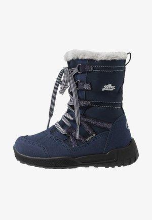 MILLIE - Vinterstøvler - marine/grau