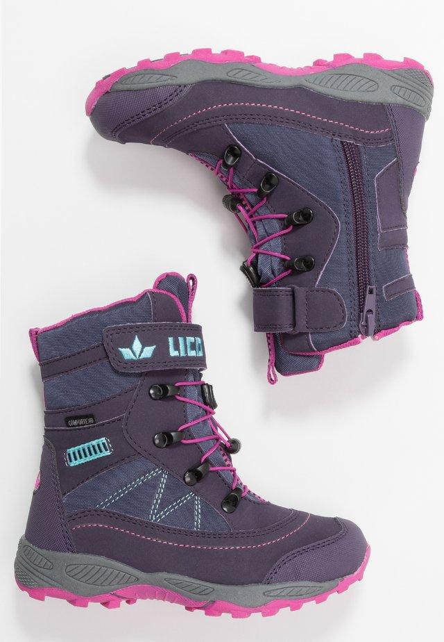 SUNDSVALL  - Snowboots  - lila/pink/türkis