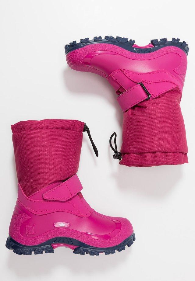 WERRO - Vinterstøvler - pink