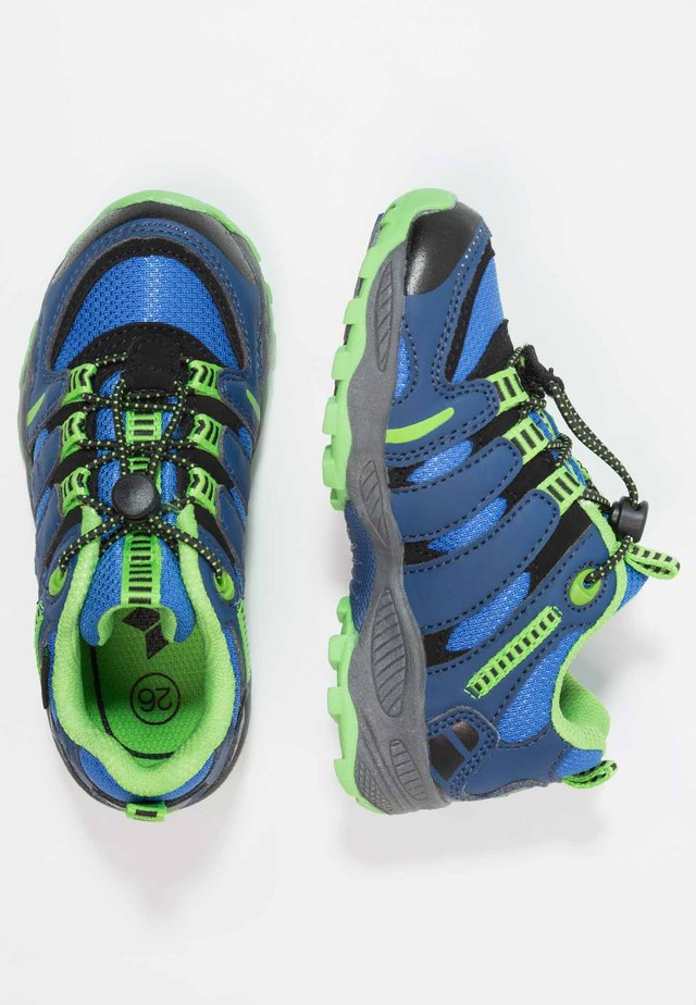 FREMONT - Sneakers - blau/grün