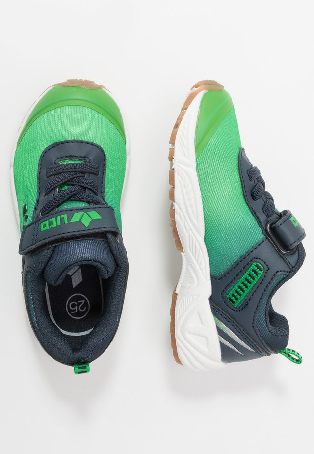 BARNEY  - Trainers - green/navy
