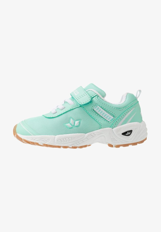 BARNEY  - Sneaker low - mintgreen/white