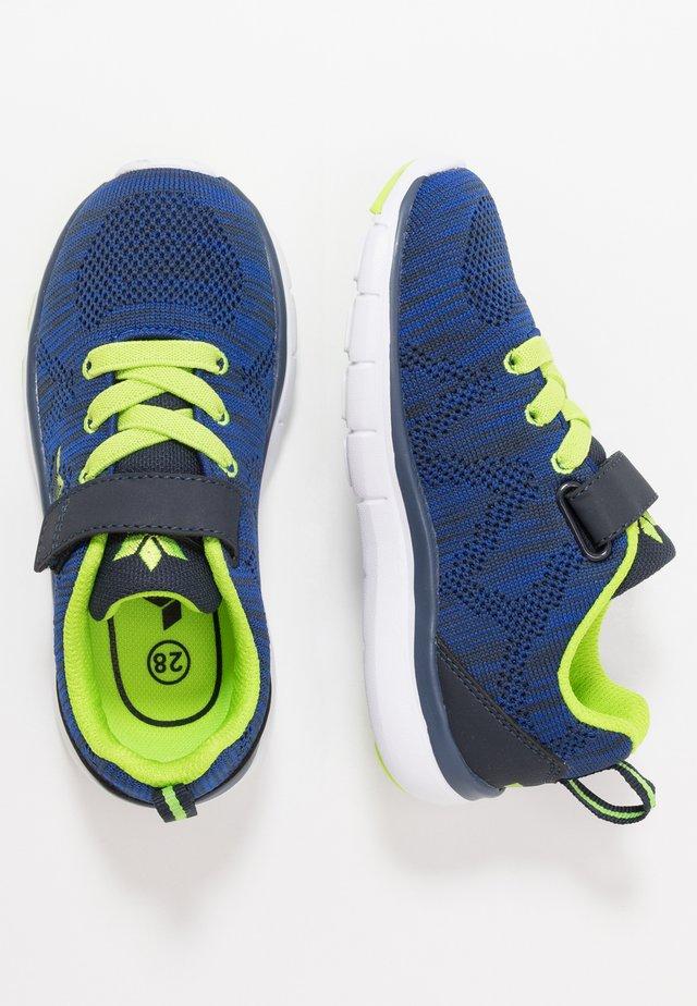 COLOUR  - Sneakers - blau/schwarz/lemon