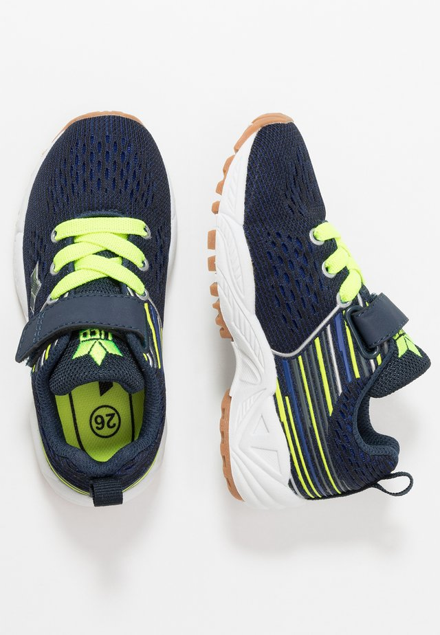COLCHESTER - Sneakers - marine/schwarz/lemon