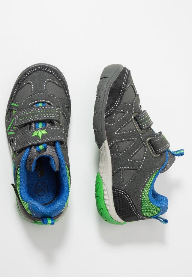 KOLIBRI - Touch-strap shoes - anthrazit/grun/blau