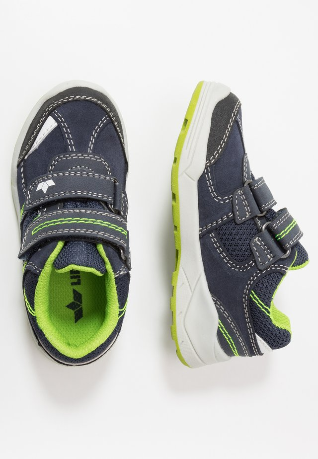 ASHOKA - Sneaker low - marine/lemon