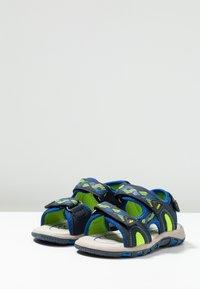 LICO - LUCA - Sandales - blau/lemon - 3