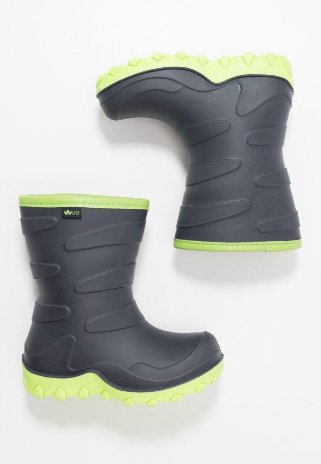 CIRRUS - Vinterstøvler - marine/lemon