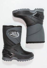 LICO - TERRA - Vysoká obuv - schwarz/grau - 0