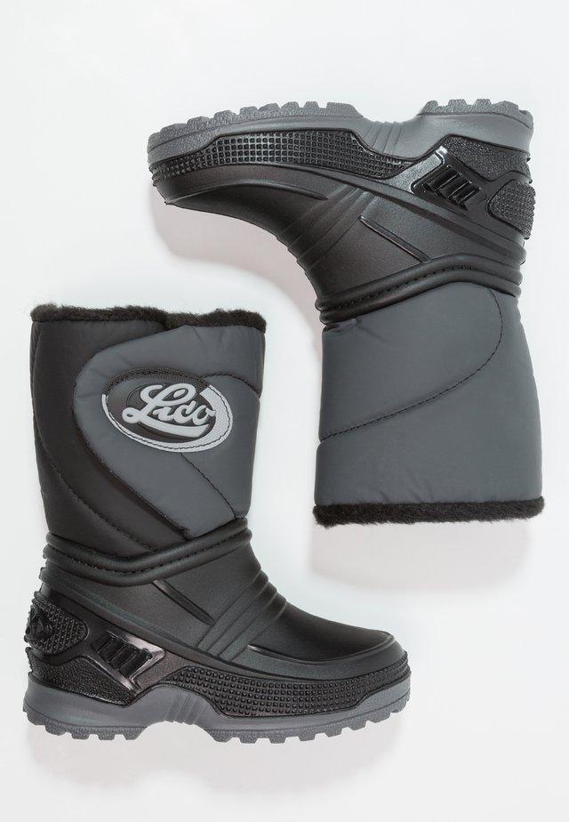 TERRA - Klassiska stövlar - schwarz/grau