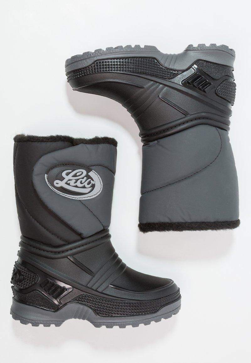 LICO - TERRA - Vysoká obuv - schwarz/grau