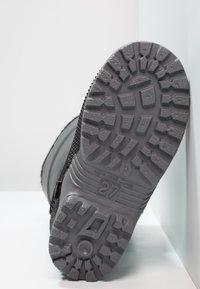 LICO - TERRA - Vysoká obuv - schwarz/grau - 5