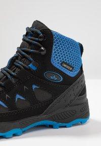 LICO - CASCADE - Lace-up ankle boots - schwarz/blau - 5