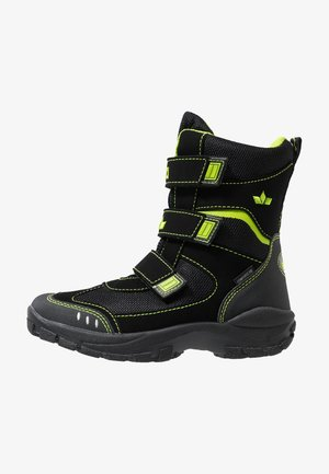 NANUK  - Zimní obuv - schwarz/lemon