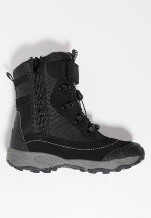 SUNDSVALL - Winter boots - schwarz/grau
