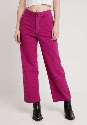 PHIL  - Jeans straight leg - prune
