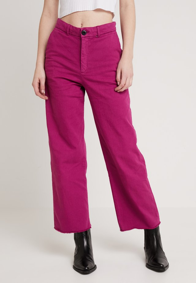 PHIL  - Jeans straight leg - prune