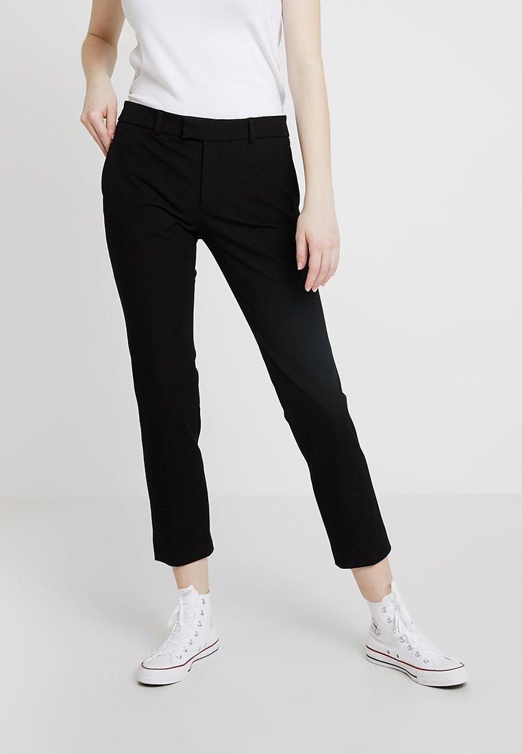 Leon & Harper - PALMORA - Trousers - black