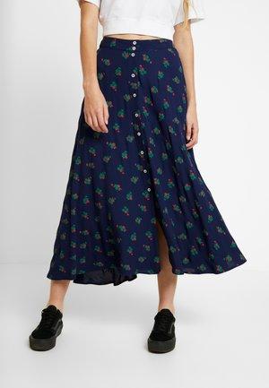 JACINTHE - A-snit nederdel/ A-formede nederdele - navy