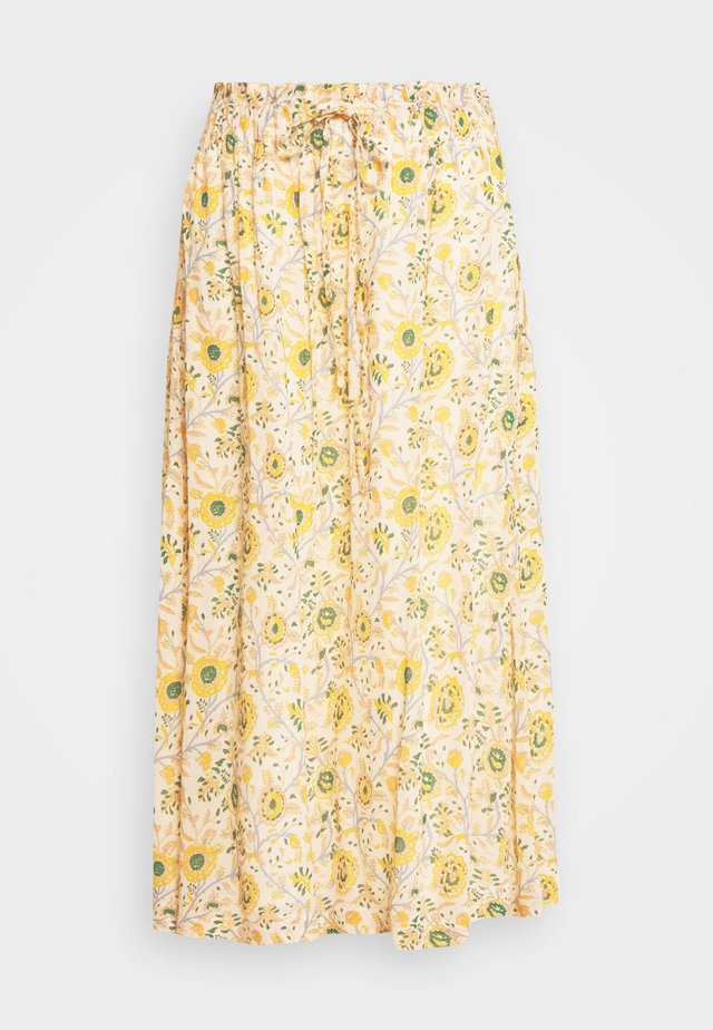 JACARA BOUQUET - A-line skjørt - off white