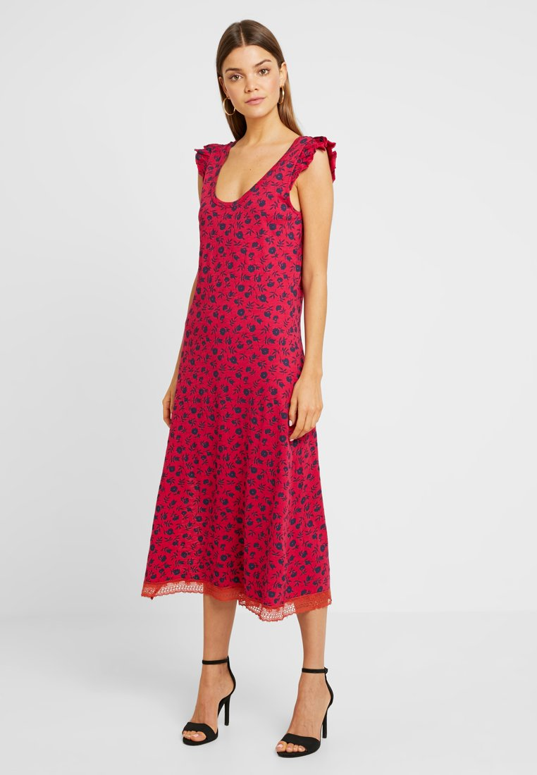 Leon & Harper - RODEO - Maxi dress - pink
