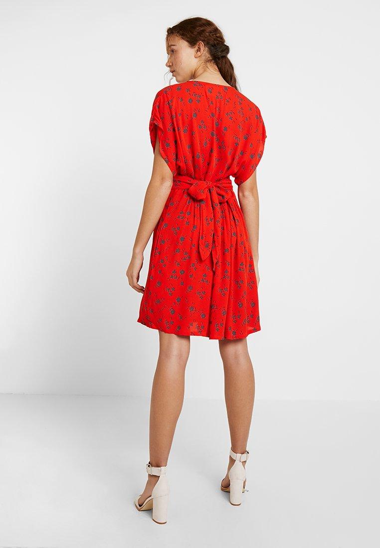 Leon & Harper RHINA CHERRY Robe chemise red ZALANDO.FR