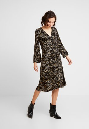 ROUPIE LEAF - Shirt dress - black iris