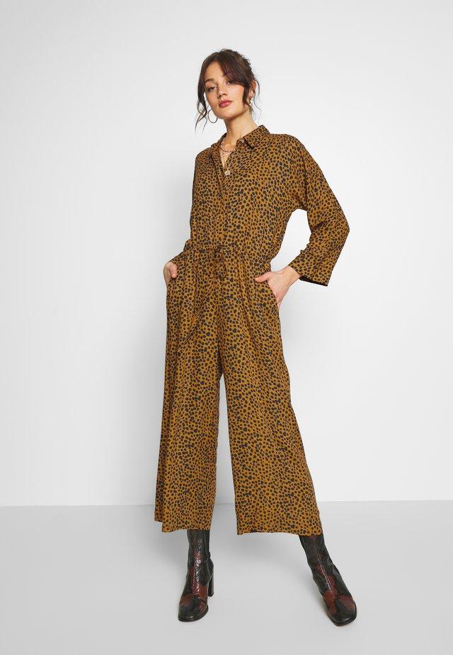 OKAY LEO - Overall / Jumpsuit - camel