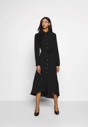 RAMEN PLAIN - Shirt dress - black