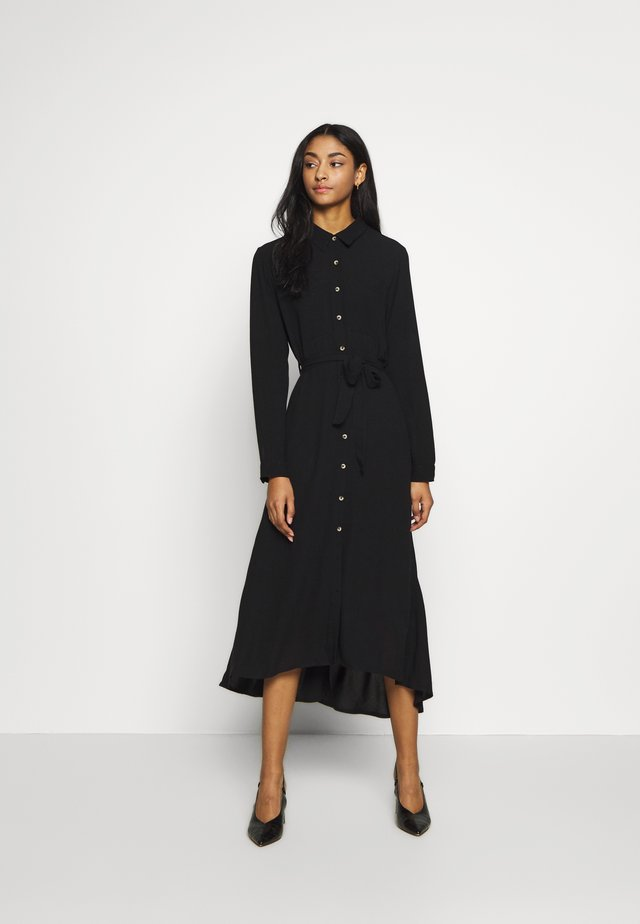 RAMEN PLAIN - Robe chemise - black