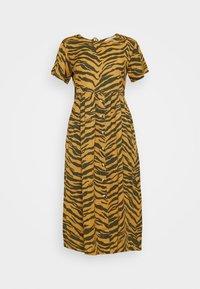 Leon & Harper - REVA TIGER - Sukienka letnia - brown - 4