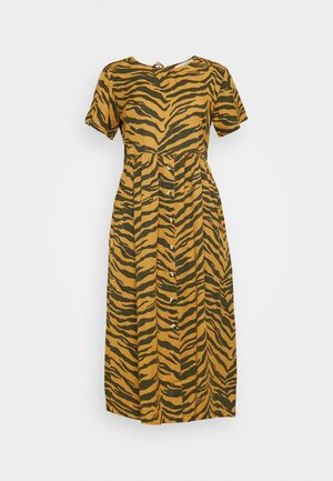 REVA TIGER - Day dress - brown