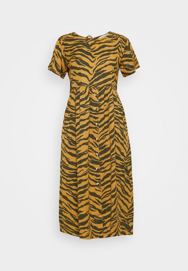 REVA TIGER - Kjole - brown